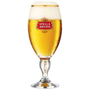Free Stella Artois Lager Chalice with picture Submission & Twitter