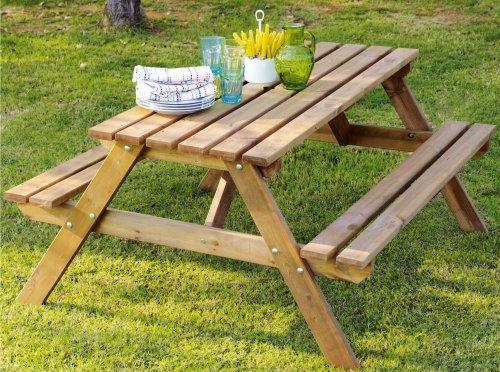 ** Batam Timber Picnic Bench only £26 @ B&Q **