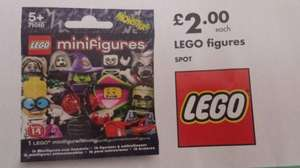 Lego mini figures  (monsters)ONLY £2 each @ netto