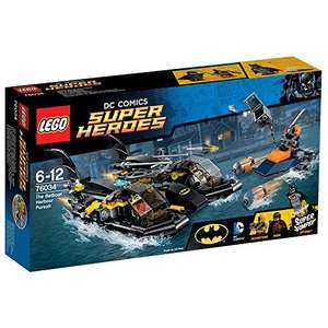 LEGO 76034: Lego Super Heroes Batman - Batboat Harbor Pursuit, £15 (down from £25) at Sainsbury's in-store