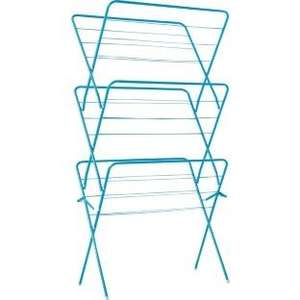 ColourMatch 3 tier 15M indoor clothes airer - Fiesta blue reduced to £1.93 instore @ Homebase Derby.