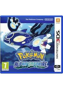 Pokémon Alpha Sapphire (Nintendo 3DS) £21.99 Delivered @ Base