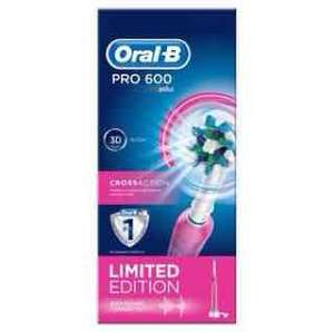 Oral B pro 600 electric toothbrush limited edition pink @ Lloyds pharmacy £15.00