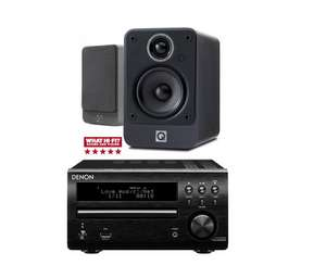 Denon DM40DAB Hi-Fi & Q Acoustic 2010i speakers - £249.95 in-store @ RicherSounds