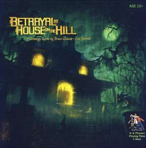 Betrayal at house on the hill Board game £29.59 Sold by Future Gaming UK and Fulfilled by Amazon.