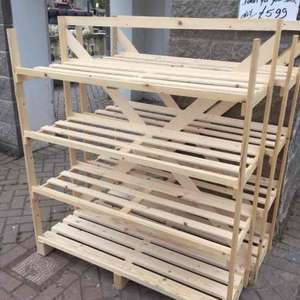 Wooden Storage Rack £5.99 @ Trago Mills Newton Abbott In-Store