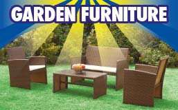 Provence rattan patio set was 199.99 now £99.99 family bargains