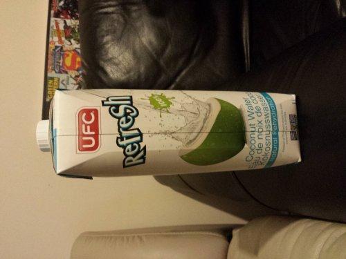 UFC Coconut water 1L £1.50 @ Asda