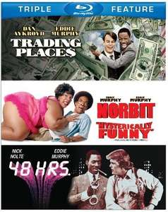 Trading Places / 48 HRS / (and er... Norbit) Eddie Murphy BLU-RAY triple feature boxset £7.90 at wowhd