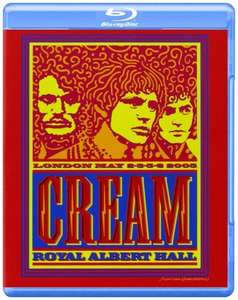 Cream :  Live at the Royal Albert Hall [Blu-Ray] (Dolby, Digital Theater System) £6.83 delivered @ Wow HD