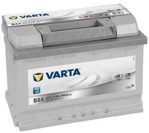 Varta Silver Car Battery 096 / 086 / 069 - 77Ah, CCA 780Amp - 5 year warranty £64.90 @ tayna.co.uk