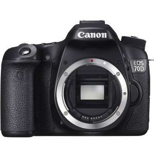 Canon 70D DSLR Camera (Body Only) £499 @ Portus