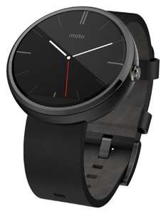 Moto 360 in black £110 on Amazon.co.uk sold by CleverKit. Cheapest price I have seen.