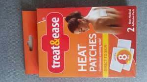 Heat Patches - 2 pack -treat & ease £1 @ Asda