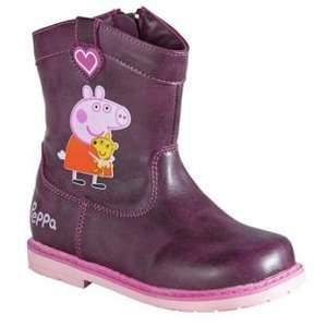 Peppa Pig Girls' Boots - Sizes 5-10 (was £12.99) Now £9.74  at Argos