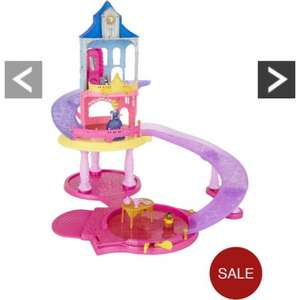 Disney princess glitter glide castle £27.00 @ Very