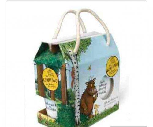 Gruffalo mug and biscuit tray set £1.20 at sainsburys