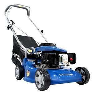 Hyundai HYM40P 40 cm/16-Inch Petrol Lawnmower £111.04 delivered @ Amazon