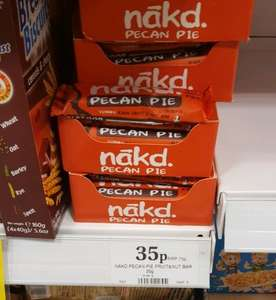 Nakd Pecan Pie bars 35p at Home Bargains