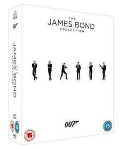 The James Bond 23 Film Collection [w/space for Spectre] (Blu-ray+HD Ultraviolet) £69.99 in store @ HMV or online @ Hmv.com / Amazon