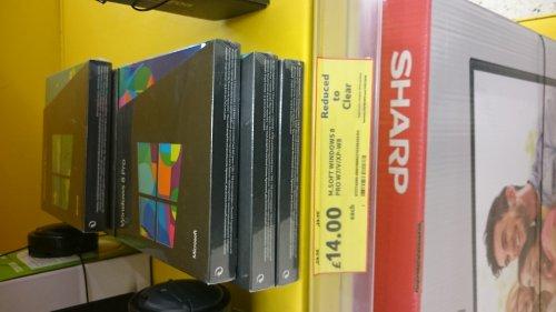 Windows 8 pro £14 @ Tesco (Portadown)