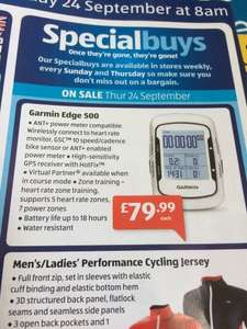 Garmin Edge 500  - £79.99 at Aldi from the 24th September