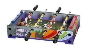 "Mini Table Top 18"" Football Table  £4.50 @ Tesco Direct"
