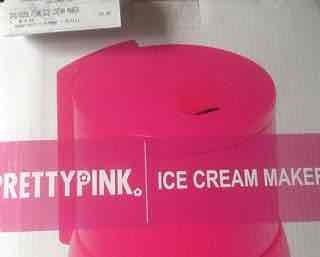 Argos  Pretty Pink Ice Cream Maker - £9.99