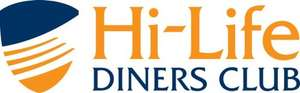 Hi-Life Diners Club - 2 for 1 Dining in UK/Ireland - 12 Months Membership for £1.00