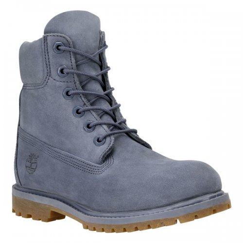 Womens Timberland 6 Inch Premium Boot Grey/Nubuck Sizes 4 and 5 £96.00