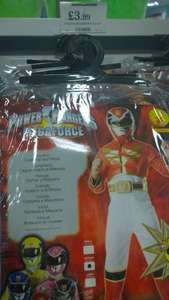 Power Rangers Costume  £3.99 @ Home Bargains