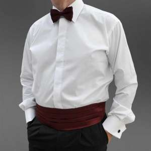 White classic collar evening dress shirt was £34.99 - £7.99 at My Collars and Cuffs