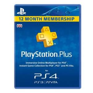 PS Plus 12Months for £23.99 with groupon voucher - additional cashback possible via TCB @ Very