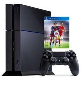 1 TB Playstation 4 Console + Fifa 16 + a Playstation TV for £291.38 delivered from Xtra-vision.ie (£298 from UK store)