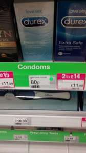 Love Sex Durex Essential 12 condoms now 80p @ Superdrug One Stop Perry Bar.