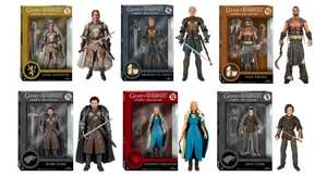 Game of Thrones Legacy Action Figure (Jaime Lannister, Robb Stark, Khal Drogo, Brienne, Arya Stark, Jon Snow, White Walker, The Hound, Ned Stark, Daenerys, Daenerys in Blue Dress) £13.69 each @ HBO shop