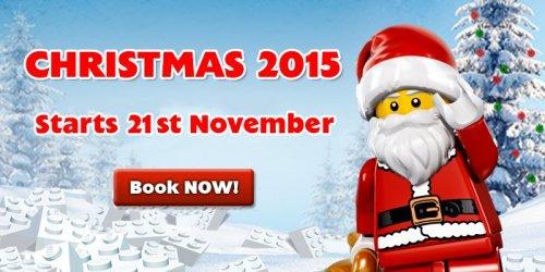 Legoland Christmas - meet Santa & gift for kids 25% off Nov dates £18.75
