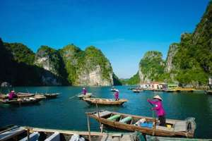Travelbird - 19 nights spent discovering the very best of Thailand, Vietnam and Cambodia including return flights  + Internal flights (Various airports) - from £1229