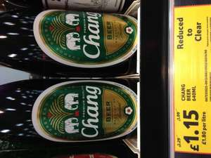 Chang Beer 640ml bottles £1.15 @ Tesco Ricoh Coventry
