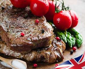 20x Sirloin Steaks for £53.94 Delivered (£2.70 per steak) @ westingourmet