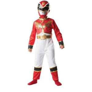 power rangers red ranger fancy dress costume £3.99 @ Home Bargains