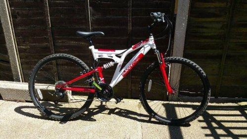 "Muddyfox Heist 26"" Dual Suspension Mountain bike reduced from £250 to £80 at Tesco"
