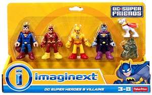 Imaginext DC Super Friends 4 Pack £11.99 at Argos