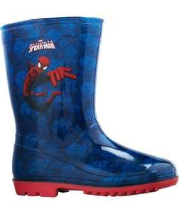 Spiderman wellies half price £4.99 @ Argos