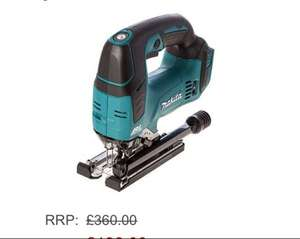 £138.00 Makita DJV182Z 18 V Cordless and Brushless Li-Ion Jigsaw @ Amazon