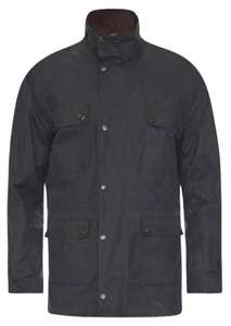 Barbour waxed jacket heavily reduced £69.99 johnnorris