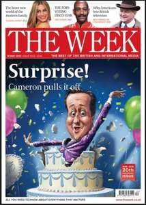 "6 Issues of ""The Week"" for £1.00 at WH Smith"