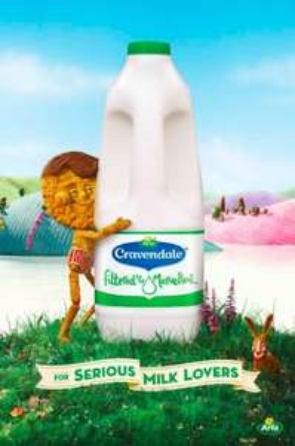 Cravendale Pure Whole Milk / Semi Skimmed Milk / Skimmed Milk (2L) - Only £1.25 @ Asda...
