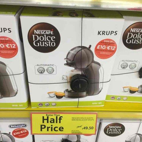 krups Nescafé dolce gusto £49.50 @ Tesco