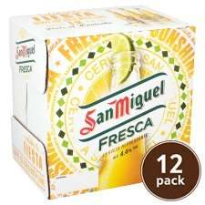 San Miguel fresca 12 pack £5 @ Tesco instore